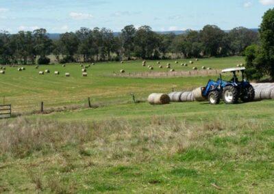Tractor at Edenholme
